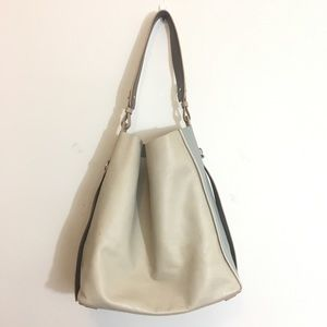 All Saints Paradise N/S Colorblock Leather Bag
